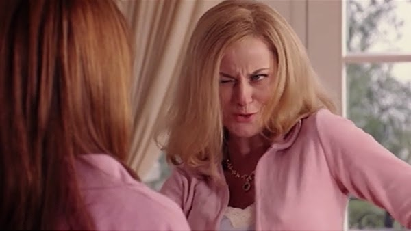 An image of a mother from Mean Girls winking at her daughter for Therapyology. Our private practice therapist jobs in West Bloomfield, MI are different from others. Learn more about private practice hiring in West Bloomfield, MI, and how our private practice jobs help shape the next generation!